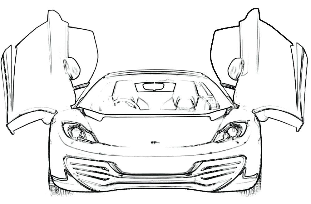 Ferrari Coloring Pages at GetColorings.com | Free ...