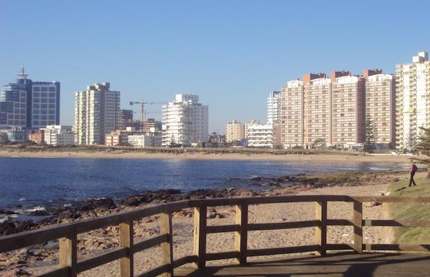 praia punta uruguai