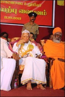 Sampanthan crowned