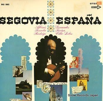 SEGOVIA, ANDRES espana