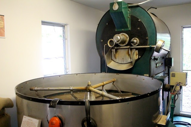 Roasting and cooling the beans