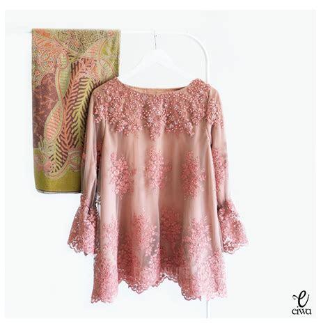 kebaya indonesia modern lace top brokat cornelly tulle