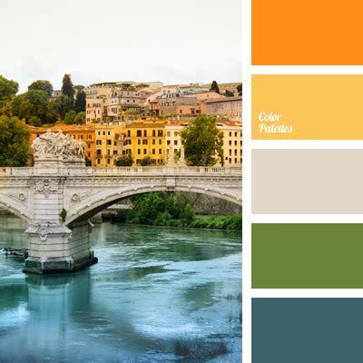 color of the Tiber River   Color Palette Ideas