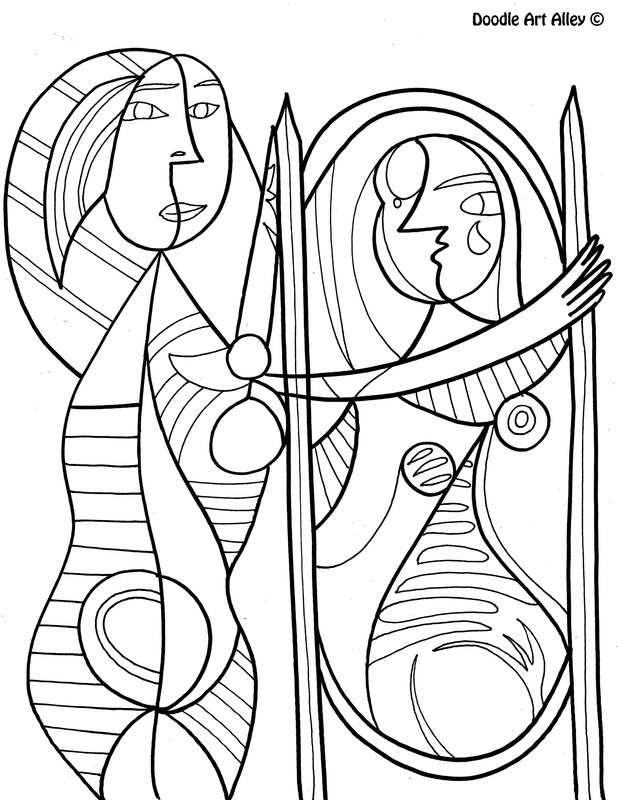 87 Top Coloring Book Pages Famous Art , Free HD Download