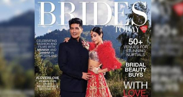 The Bollywood Diva Janhvi's Bridal look Sets Major Fashion Goals for Girls