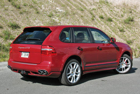 2008 Porsche Cayenne Turbo 4dr All Wheel Drive Specs And