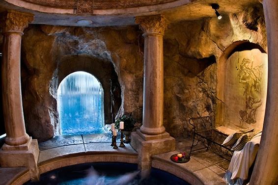 Fire and Water: The Grotto - Interior Design Inspiration | Eva Designs