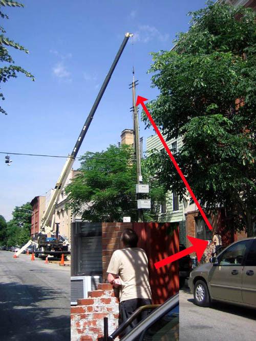 Huron Street Crane