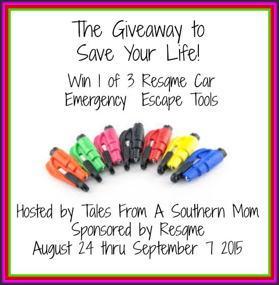 Enter The Giveaway to Save Your Life. Ends 9/7