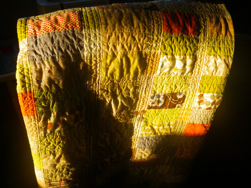 Quilt at dawn