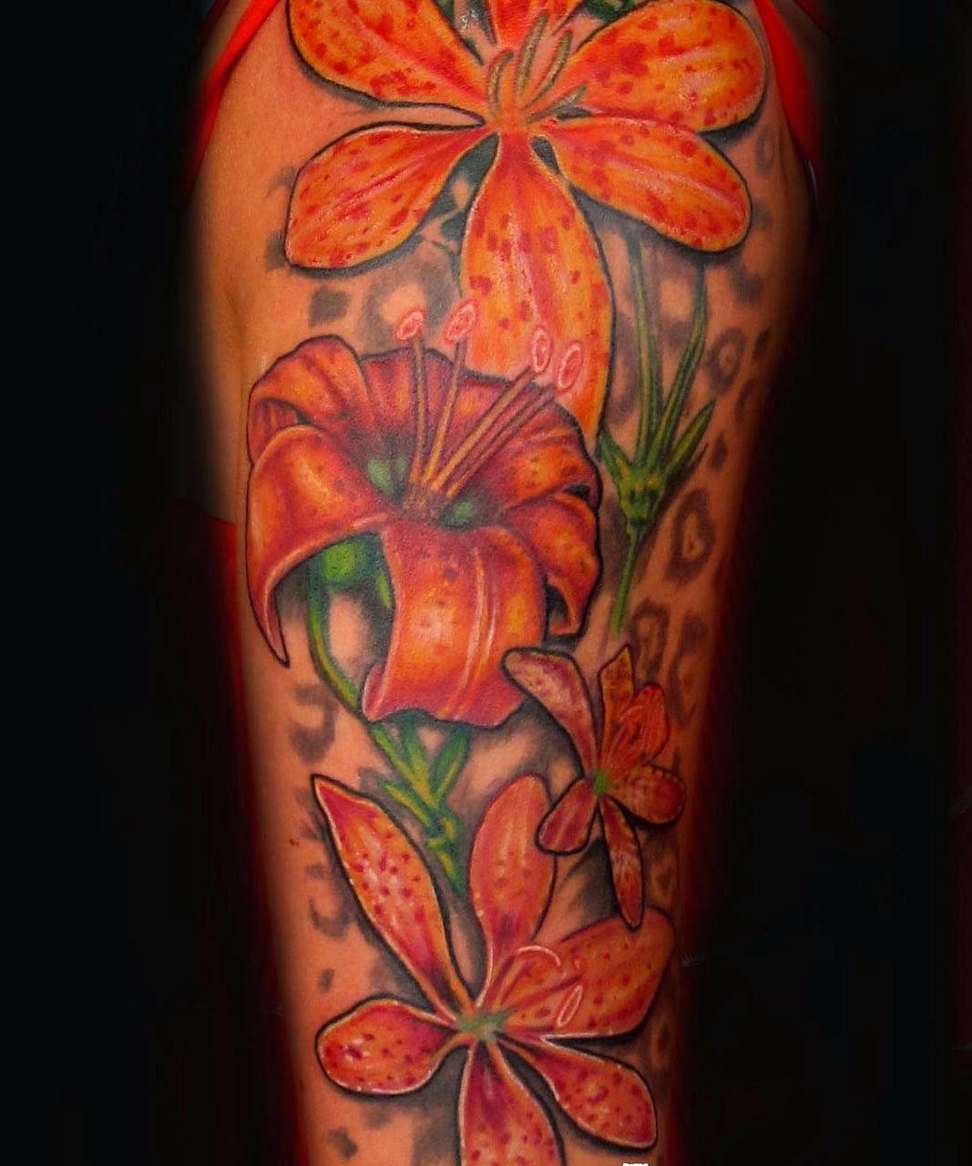 Flower Half Sleeve Tattoos For Men Cool Tattoos Bonbaden