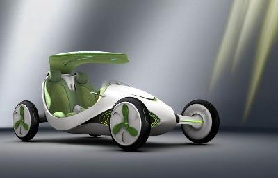 Un coche que se hace la fotosíntesis