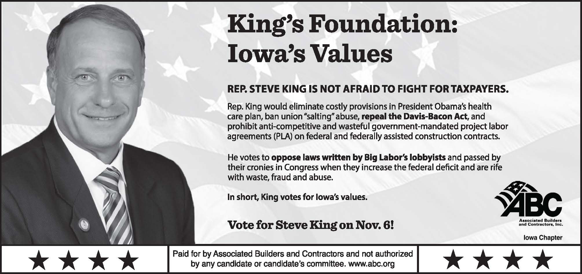 Image result for steve king iowa rep