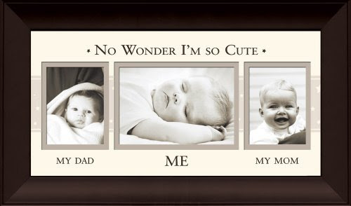 Havoc Gifts Mom Dad Me Hallway Photo Frame Baby Nursery Picture