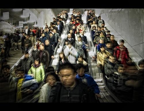 Shanghai Rush Hour por ruudvandenberg!