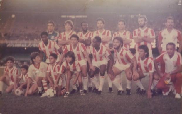Bangu - campeão da Taça Rio de 1987 (Foto: Arquivo Pessoal)