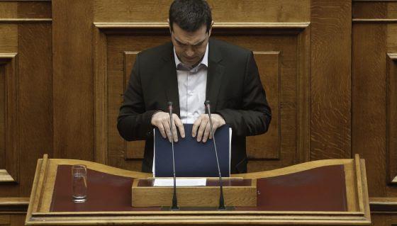 Primer ministro Tsipras de Grecia