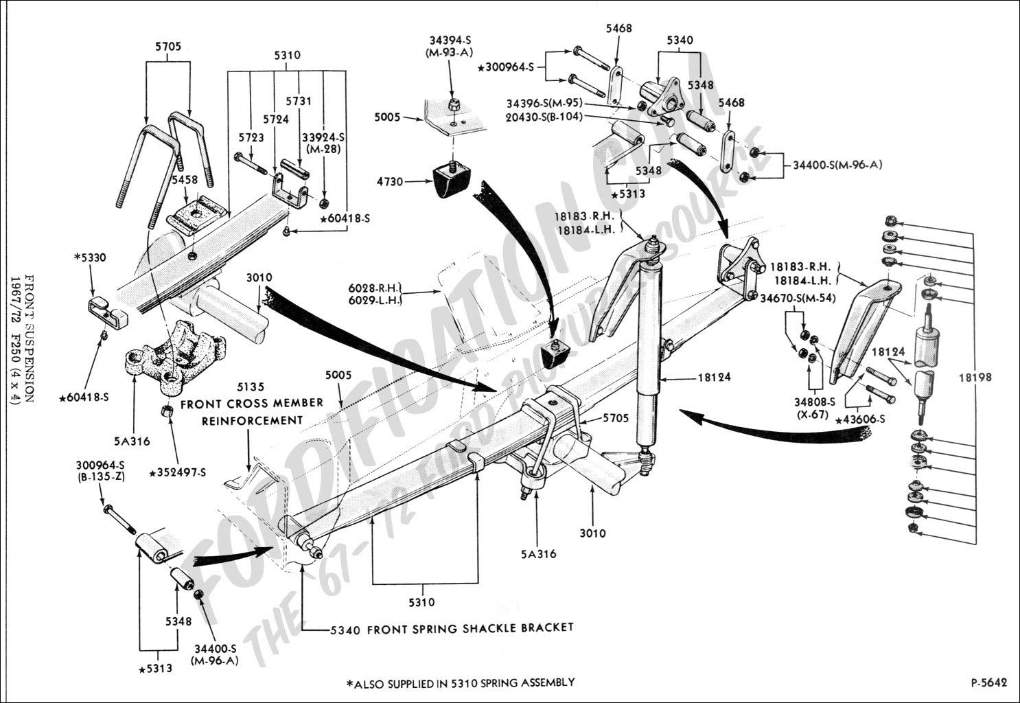 33 Ford E350 Front Suspension Diagram
