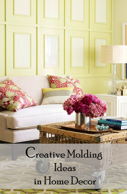 Fabulous Home Ideas – Creative Molding Ideas in Home Decor