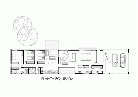 gallery  linear house roberto benito  en