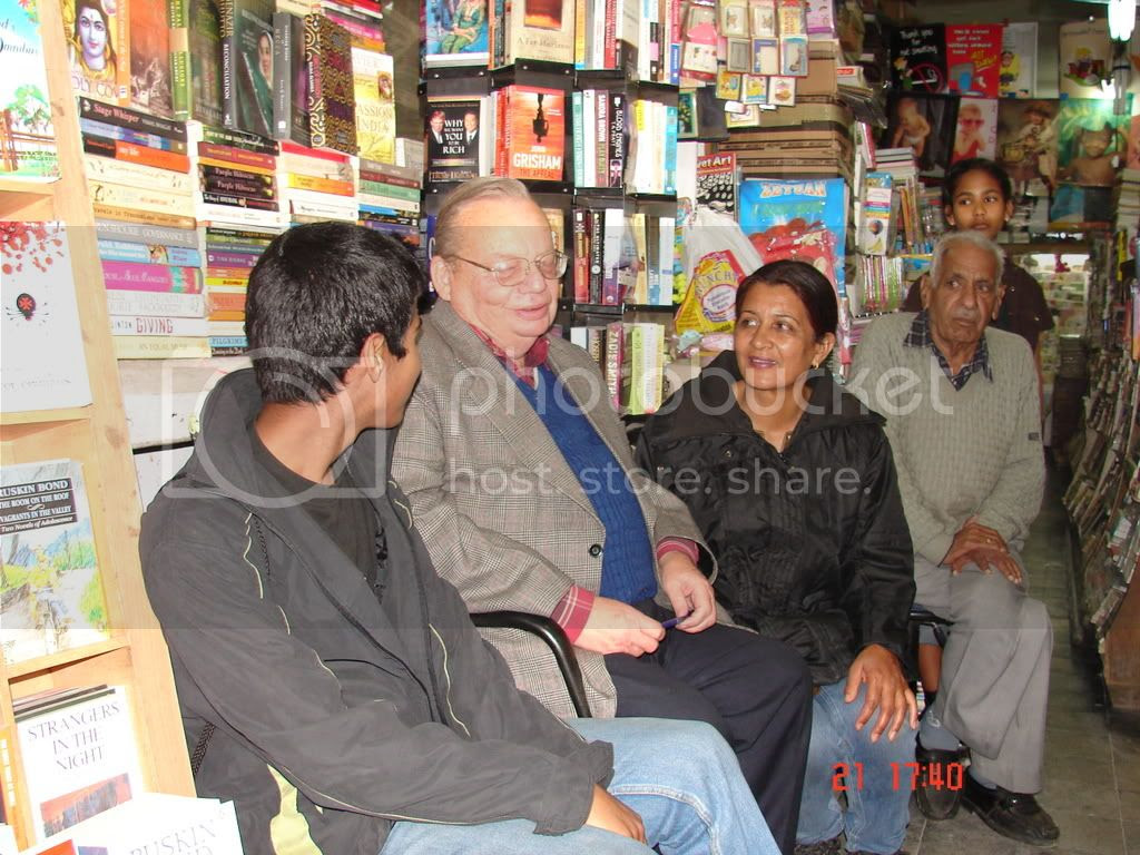 with ruskin bond Pictures, Images and Photos