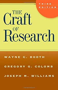 """Cover of """"The Craft of Research, Third Ed..."""