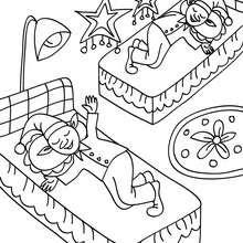 Dibujos Para Colorear Duendes Navideños Durmiendo Eshellokidscom