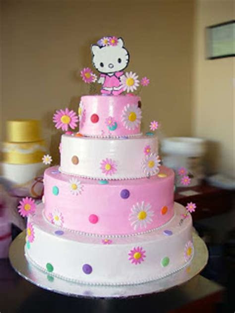 Special Day Cakes: Best Hello Kitty Birthday Cakes Decoration