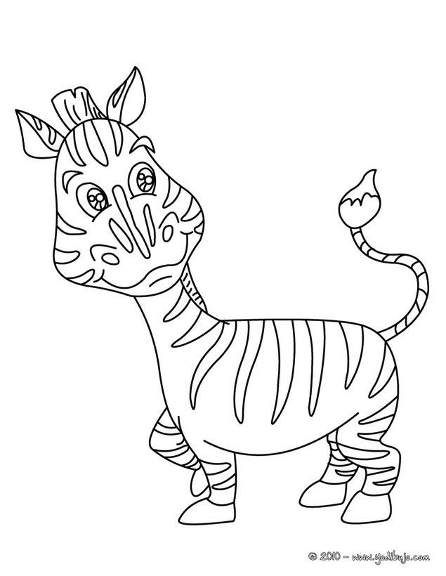 Dibujos Para Colorear Cebra Eshellokidscom