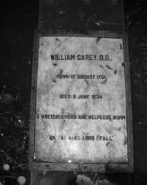 william-carey grave