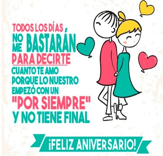 Frases De Feliz Aniversario Para Mi Amor Feliz Aniversario