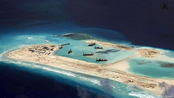 Hình ảnh Biển Đông bị lãnh đạo Trung Quốc nhận vơ là tổ tiên để lại số 2