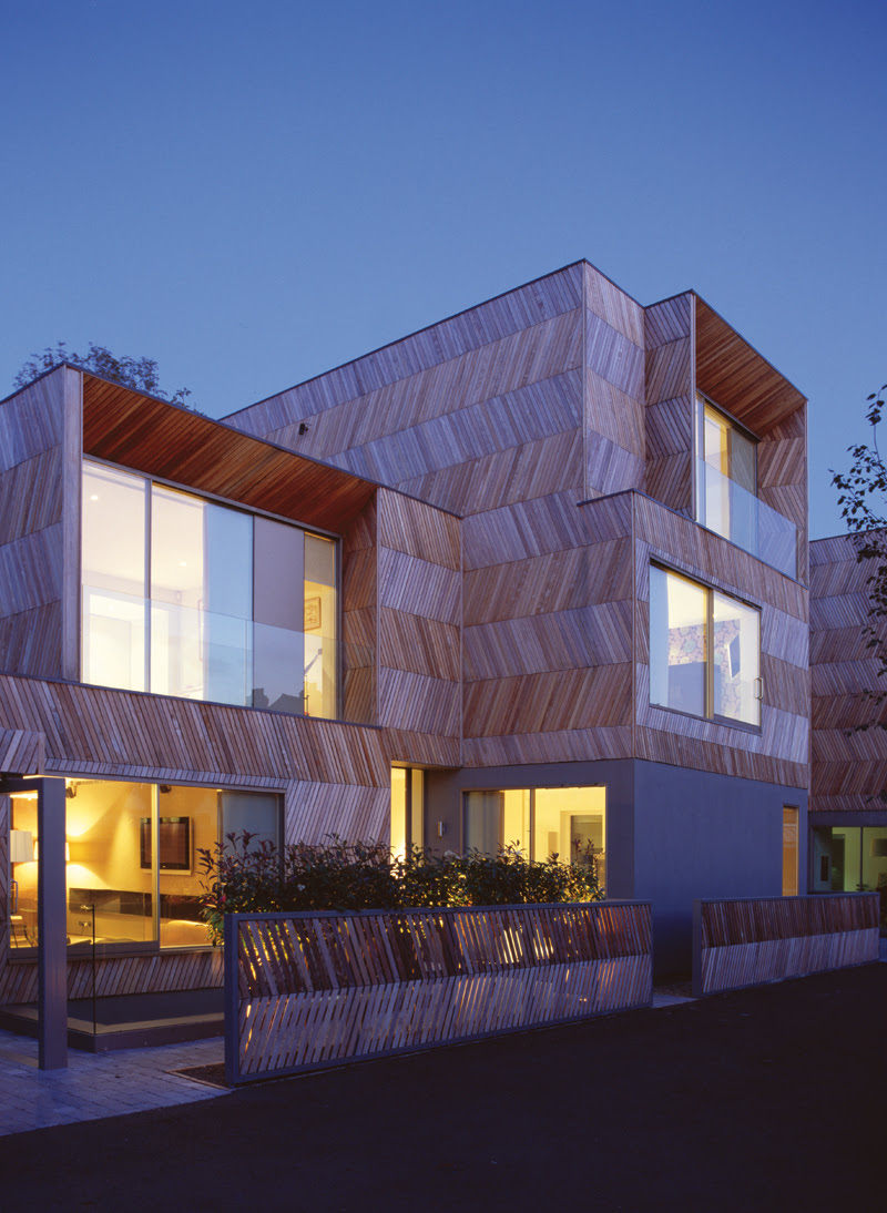 Herringbone Houses - Alison Brooks Architects, Architecture, Design, House