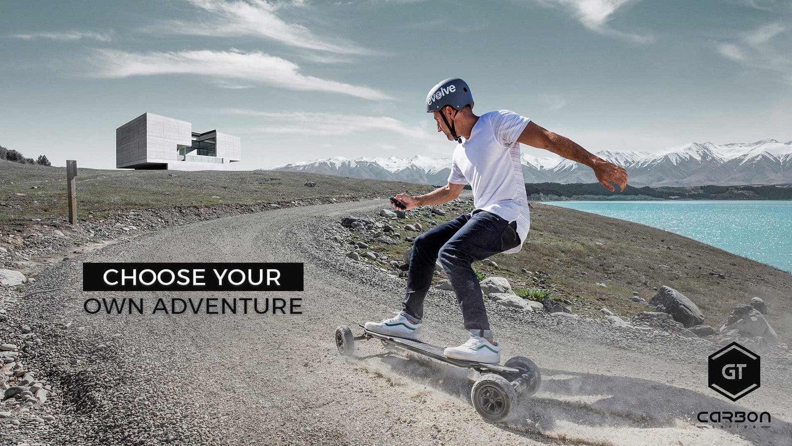 Electric Skateboards  Electric Longboards  Evolve Skateboards USA