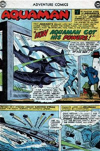 Adventure #260 Aquaman Splash Page