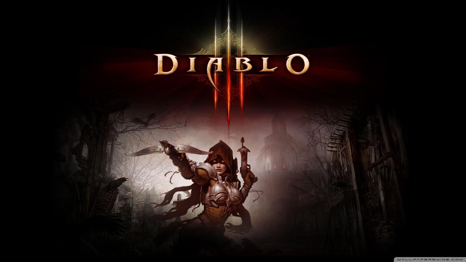 Diablo 3 Ultra Hd Desktop Background Wallpaper For 4k Uhd Tv