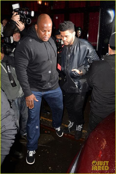The Weeknd Emerges After Selena Gomez Date Night Photos