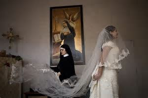 Can't afford that Vera Wang? Nuns offering second hand