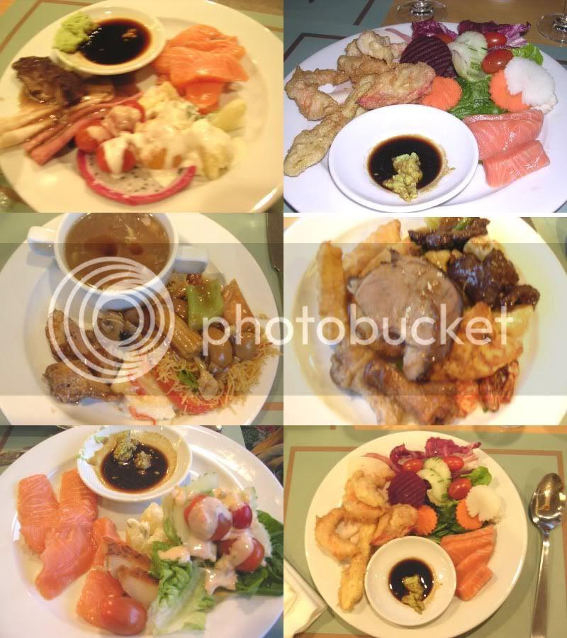 evergreen laurel(thu) buffet dinner