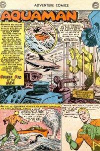Adventure #250 Aquaman Splash Page