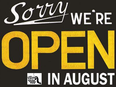 sorry we are open e-mail