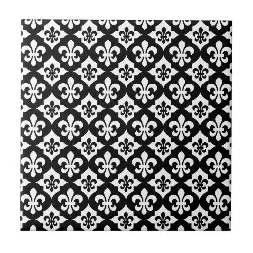 Black And White Tiles, Black And White Decorative Ceramic Tile Designs