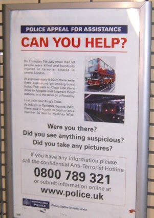 Police Appeal poster