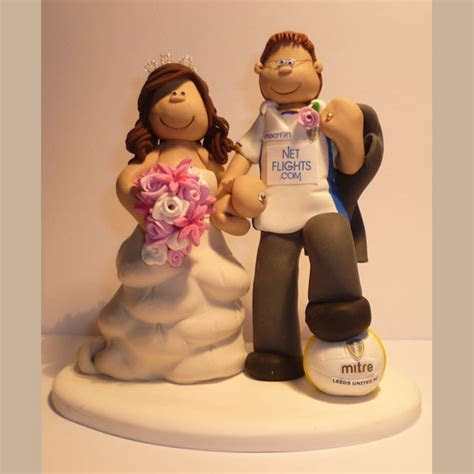 Sport Wedding Cake Toppers   TotallyToppers.com