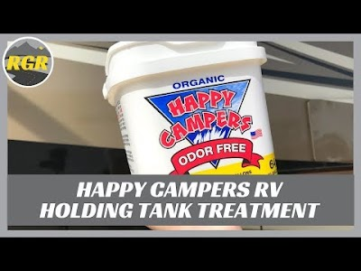 Road Gear Reviews: Happy Campers RV Holding Tank Treatment