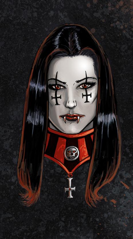 claudia chevalier vampire 5 by FTacito