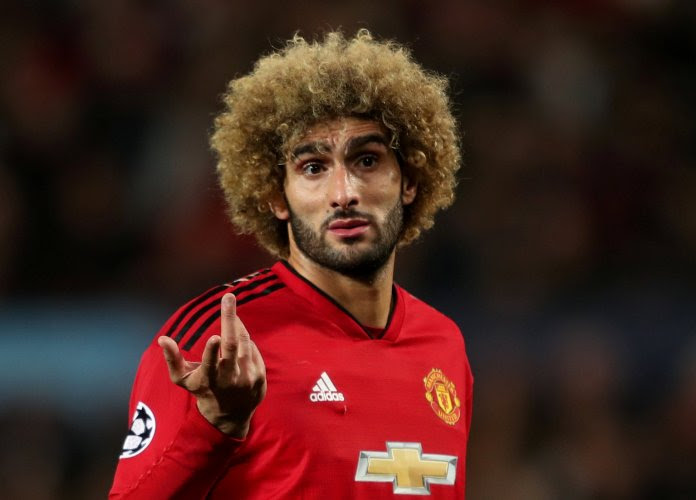 Ex-Manchester United player, Fellaini tests positive for coronavirus