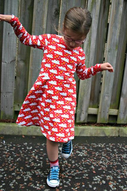 red cloud dress full 7