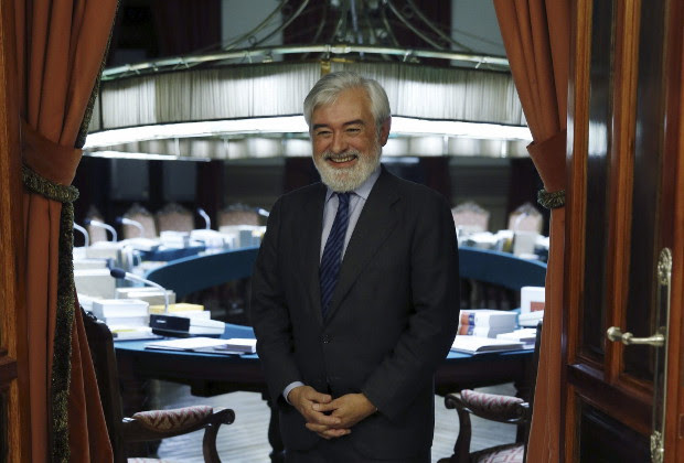 Darío Villanueva, director de la Real Academia Española (RAE). Foto: ©Agencia Efe/Kiko Huesca