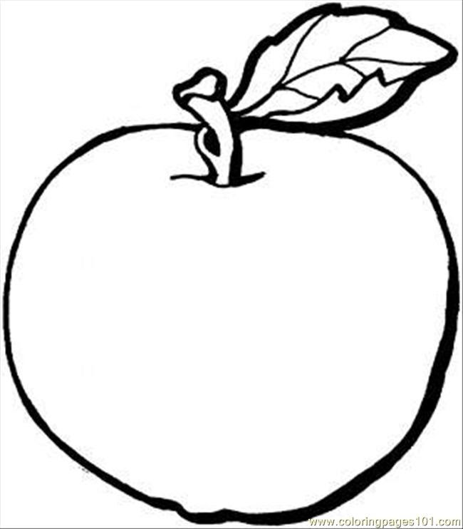 880 Top Free Coloring Pages Apple Images & Pictures In HD